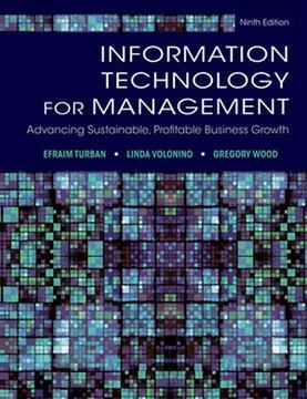 Information Technology for Management Advancing Sustainable Profitable Business Growth