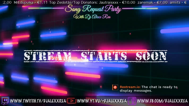 SONG REQUEST PARTY with Dj Alexx rea StayHome