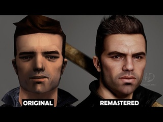 GTA III Claude Remastered - 3D Model of Claude (Real Time) - Next Gen Graphics