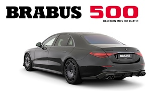 The definitive combination of luxury and performance - BRABUS 500