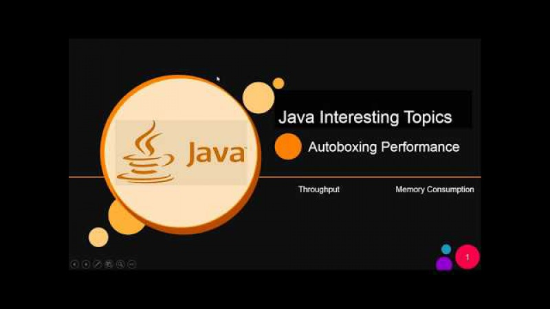 Java autoboxing and unboxing Beware of performance issue