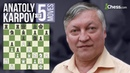Anatoly Karpov's 5 Most Brilliant Chess Moves