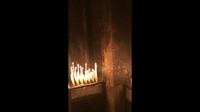 Eine Kerze für meine Zuschauer und eine für Kroatien