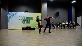 ХАСТЛ, Весенние огни 2021, JnJ Champion, финал, Александр Тагиров и Олеся Казакова, slow