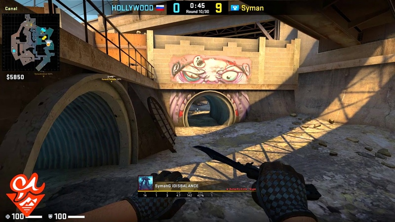 🇷🇺 iDISBALANCE 30-10 / Syman vs HOLLYWOOD - Overpass / LOOT BET Bullet Blizzard