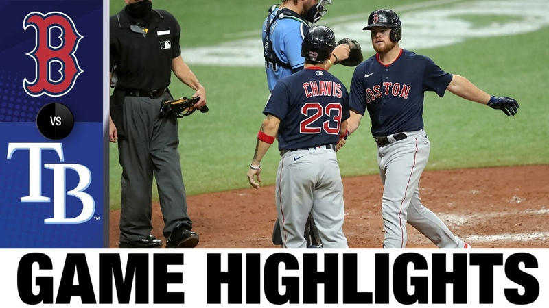 Arroyo, Vázquez lead Red Sox to 6-3 win | Red Sox-Rays Game Highlights 91320