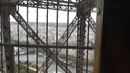 Эйфелева башня. Путешествие на лифте. Lift trip to the top of Eiffel Tower.
