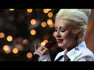 Christina Aguilera Have Yourself A Merry Little Christmas (Christmas parade HD)