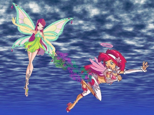 Картинки винкс и друзья ангела