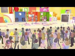 (HD)Aikatsu!-Yurika&Otome&Ran&Aoi&Ichigo-Fashion Check! (Episode 86)