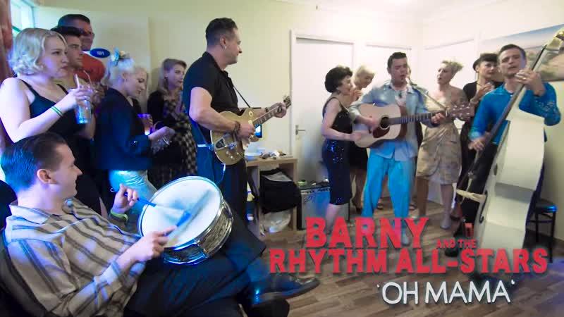 Oh Mama BARNY The RHYTHM ALL STARS Wild Records Rockabilly Rave festival BOPFLIX sessions