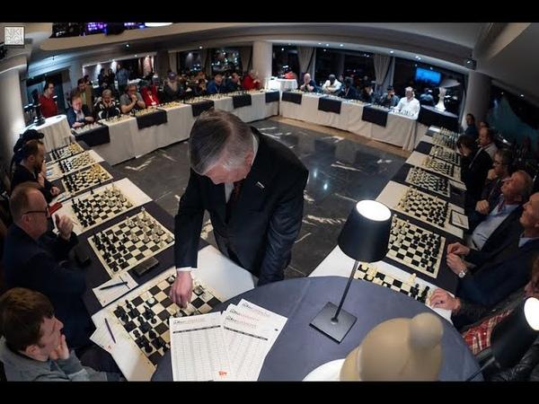 Anatoly Karpov Simultaneous at GibChess 2020