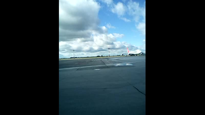 Аэропорт Толмачёво Г Новосибирск Боинг 747 400