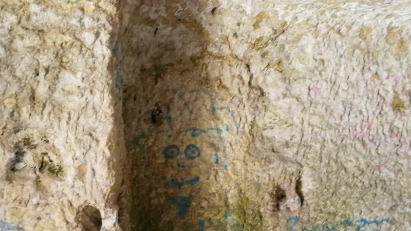 Чуфут кале Бахчисарай храм пещеры древние поселения пейзаж горы