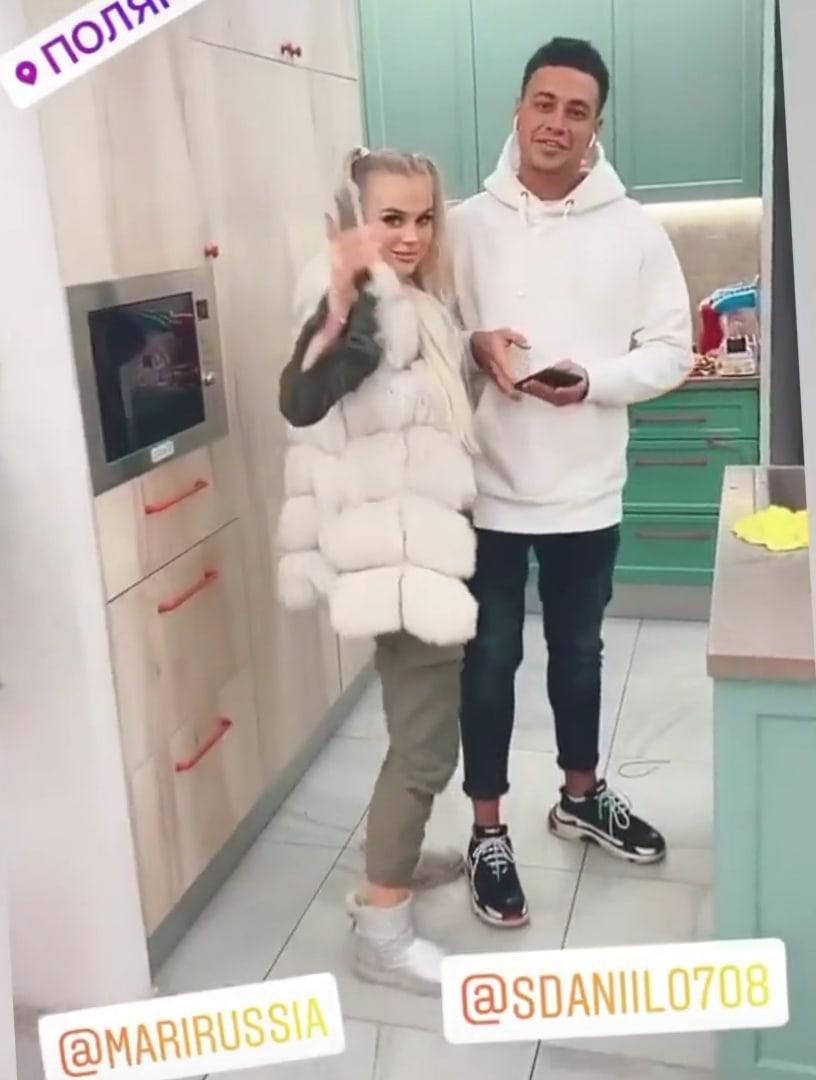 Новенькая Мария Страхова понравилась Дане Сахнову