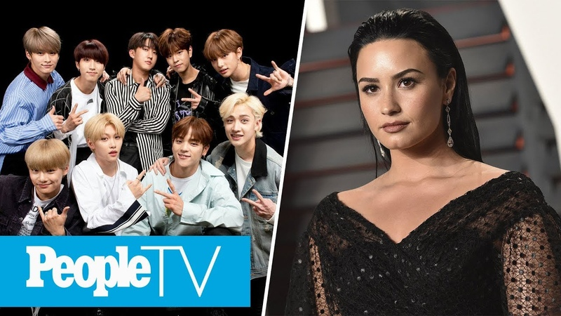 K Pop Group Stray Kids Answers Fan Questions Demi Lovato's 'Emotional' Coming Out Moment PeopleTV