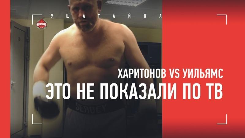 Харитонов vs Уильямс что осталось за кадром Русский боксер отправил британца в больницу