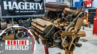 Chrysler Hemi FirePower V8 Engine Rebuild Time-Lapse   Redline Rebuild - S1E3