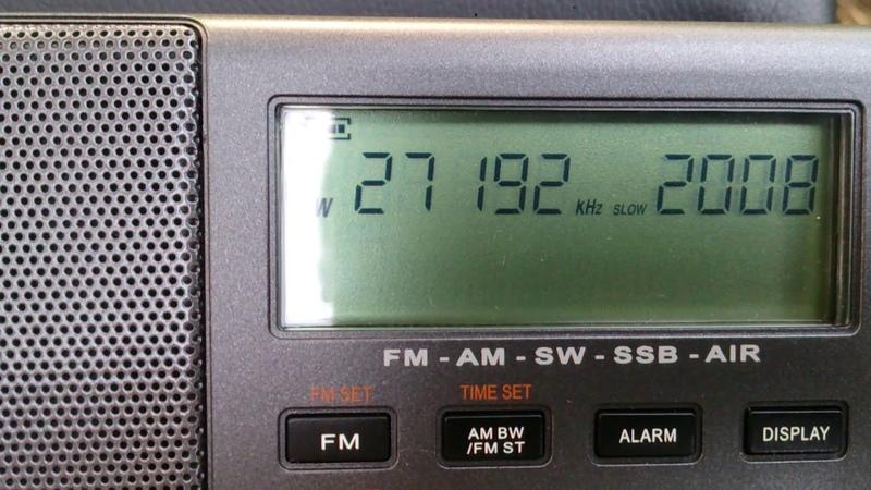 XHDATA D-808, 27MHz, радиолюбители.