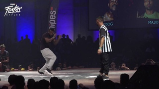 Funkin Stylez 2016 FINAL HipHop P-Dog vs Majid
