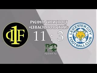 Фаворит- Leicester City. РусФут СитиСпорт «Севастопольский». Обзор матча