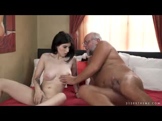 Sheril Blossom - Fuck My Pussy Grandpa [All Sex, Hardcore, Blowjob, Gonzo]