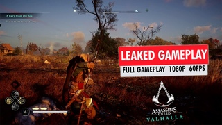 Assassin's Creed Valhalla Gameplay Leaked | Full Gameplay 1080p 60FPS
