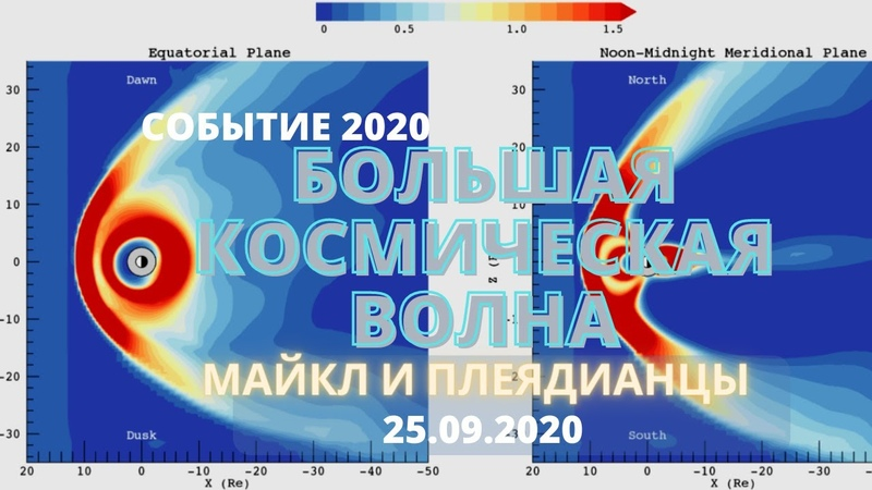 25 09 2020 ЧЕННЕЛИНГ МАЙКЛ ЛАВ БОЛЬШАЯ КОСМИЧЕСКАЯ ВОЛНА ПРИХОДЯЩАЯ НА ЗЕМЛЮ СОБЫТИЕ 2020