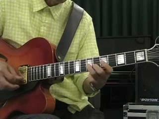 Takashi Nakamura  Jazz Guitar lesson Part 2  Billie's Bounce (F Blues)