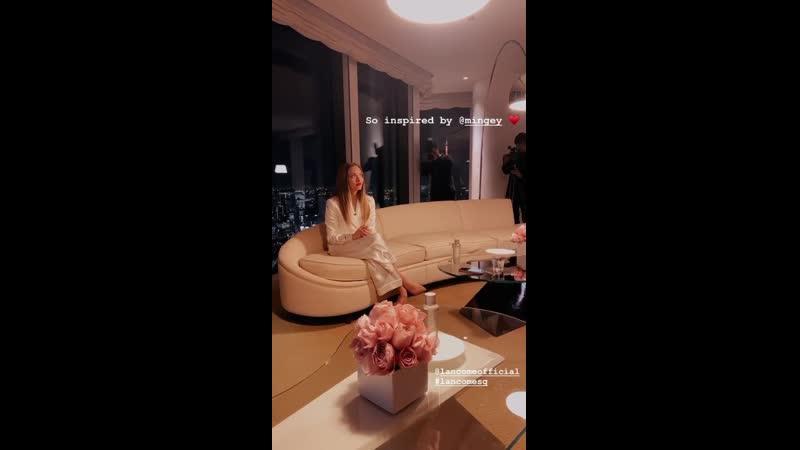 Аманда на общении с прессой о Lancôme в Токио Япония 14 01 20
