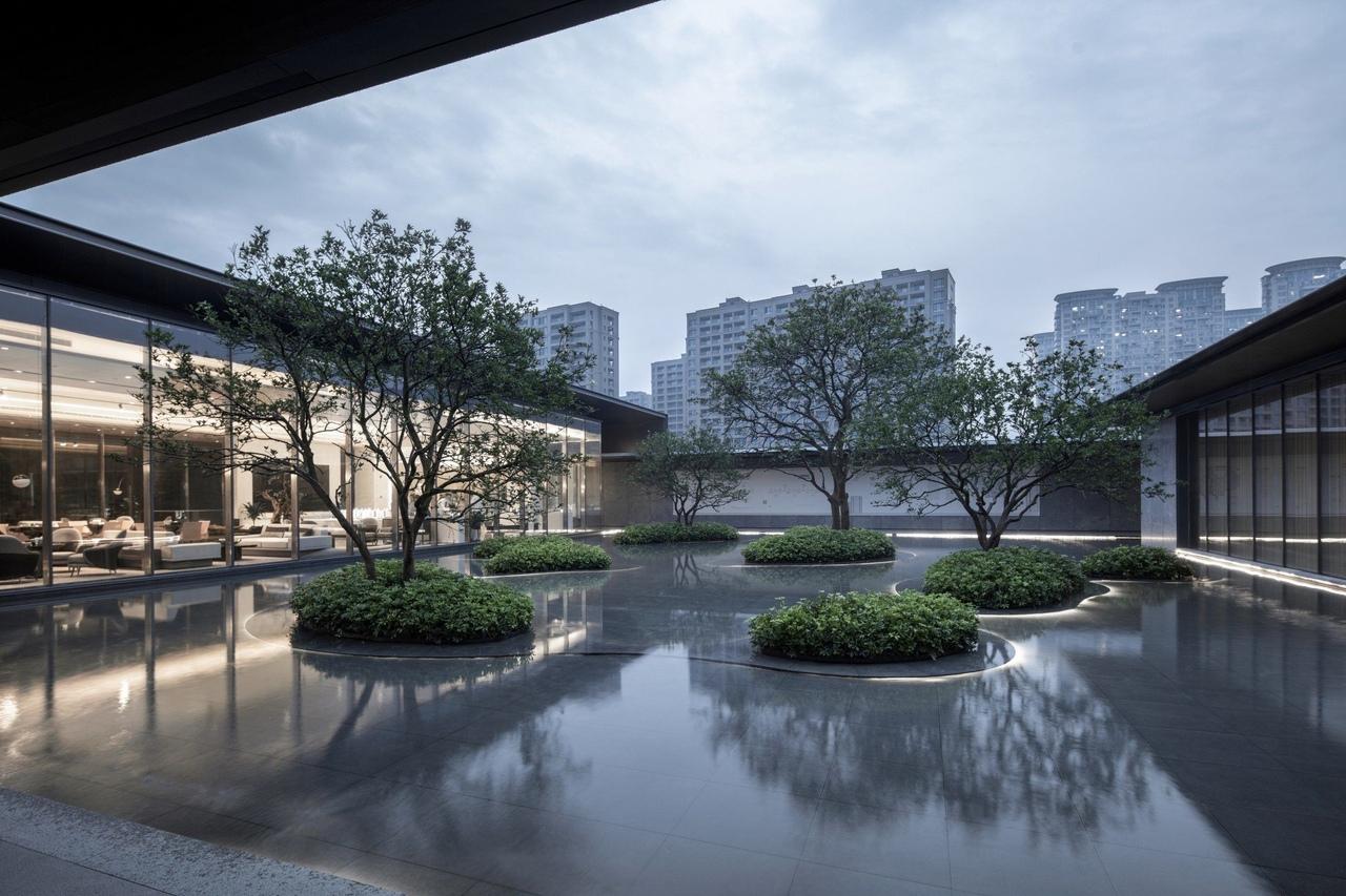 Greentown Yongkang Guiyu Tinglan Experience Area by Collective Landscape Design