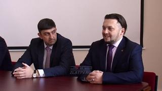 Максим Пекарский побывал с рабочим визитом на златоустовском электрометаллургическом заводе