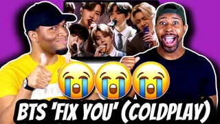 FIRST TIME HEARING BTS PERFORM LIVE (NO CHOREOGRAPHY?!) | BTS 'Fix You' - Coldplay Cover | Reaction