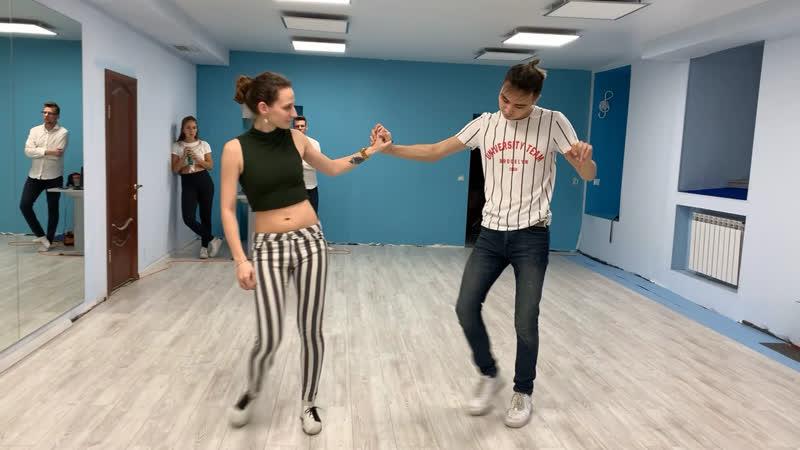 Резюме с Занятия Salsa Emocion.Askarov Orinbasar Samokrutova Evgeniya.bachata sensual