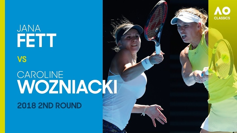 AO Classics: Jana Fett v Caroline Wozniacki (2018 2R)