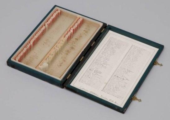 Короб с кровью поэтов, 1965-1968 В 1965 году Элеонора Антин (художник-концептуалист) начала свою первую зрелую работу. За 3 года она собрала образцы крови 100 поэтов. Вдохновил её на это Жан