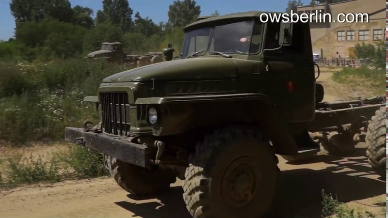 Урал-375Д «Обжора» Ural-375D SovietRussia 6x6 Army truck Off road.