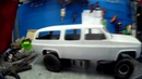 Custom Frame Buil, 1/10 scale Chevy Suburban by (Top link In)