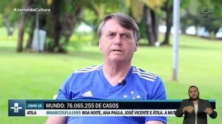 Jair Bolsonaro diz que não há pressa para vacina e vê pandemia chegando ao fim