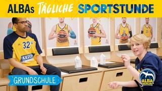 Grundschule 6 Basketball-Origami ALBAs tgliche Sportstunde