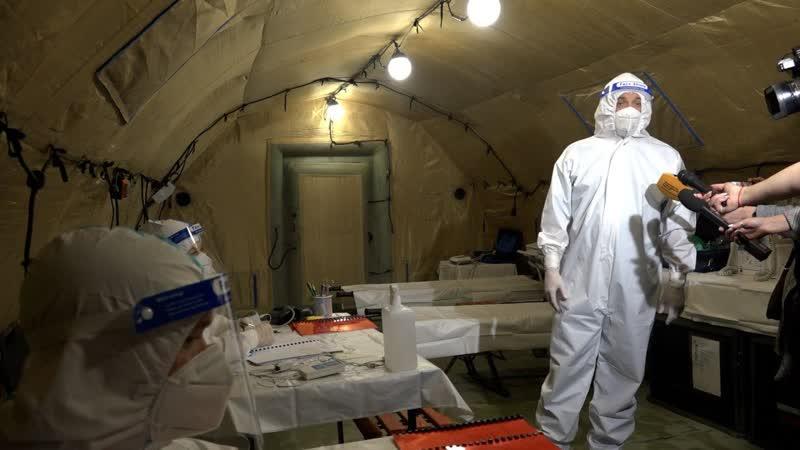 Российский военный госпиталь в Сухуме принял пациентов