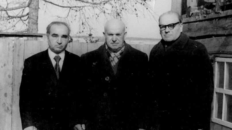 Велет Михаил Васильевич, Павлов Иван Григорьевич и Копьев Егор Матвеевич.