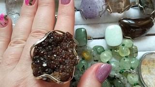 Каменная лавка (Бусы, браслеты, кольца,шары, кристаллы из натуральных камней)