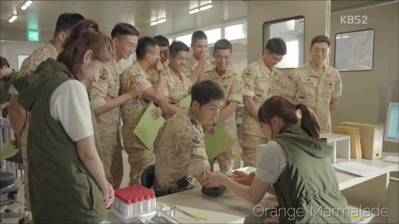 Отрывок из дорамы Потомки Солнца Взятие крови 03 серия Озвучка GREEN TEA