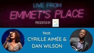 Live From Emmet's Place Vol. 54 - Cyrille Aimée & Dan Wilson