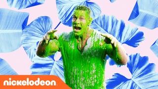 John Cena Gets Slimed | Kids' Choice Awards Music Video | Nick