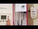 Installed Smart House Sonoff TH with Temperature Sensor for Gas Boiler BAXI