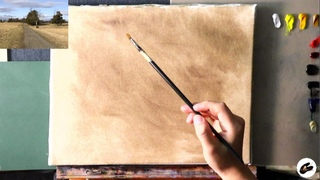 Oil Painting Landscape - LIVE! | Virtual Painting Session