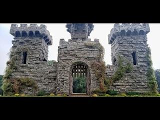 Realistic Diorama Medieval Castle Tower - Castle Diorama Tutorial - Miniature Castle Building - ジオラマ