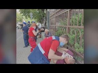 Украинцы избили белорусов